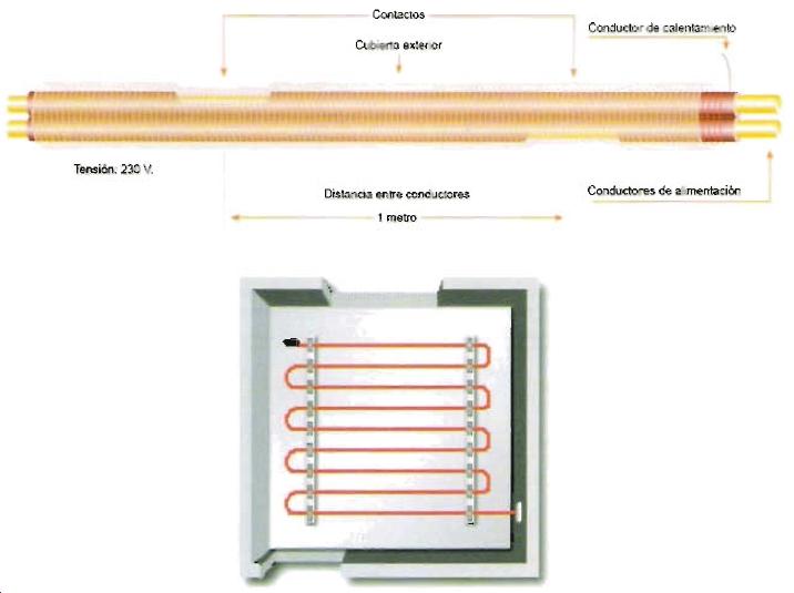 Scalofr os certificaci n energ tica de edificios opci n general calener vyp equipo de - Calefaccion por hilo radiante ...